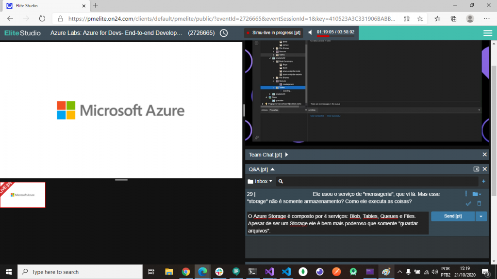 Azure Labs 2020 - Chat
