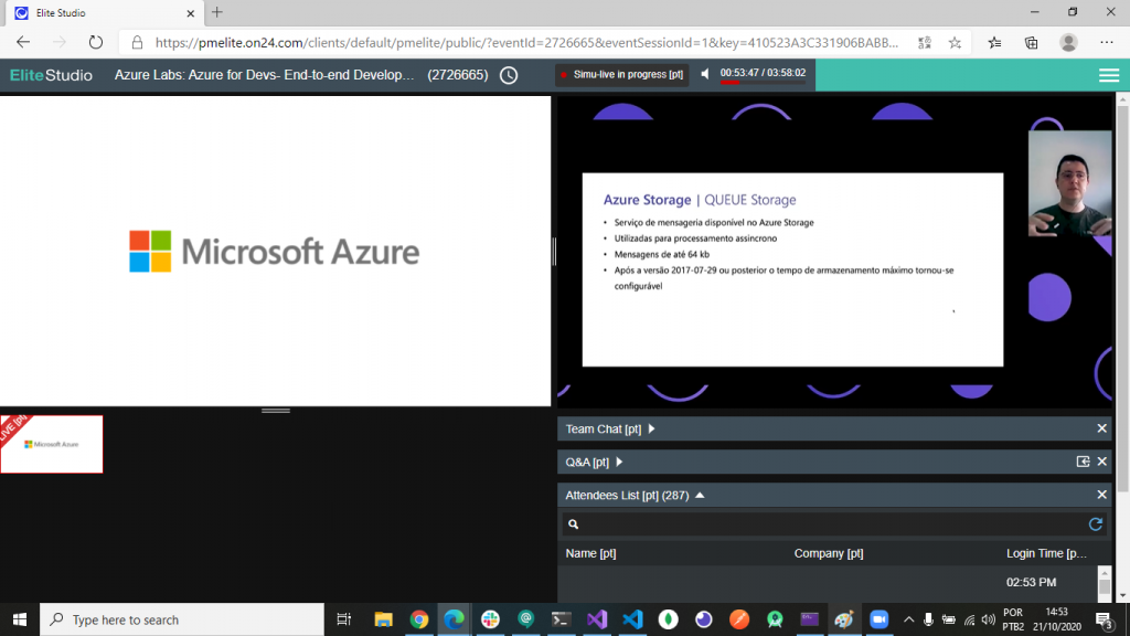 Azure Labs 2020 - Storage